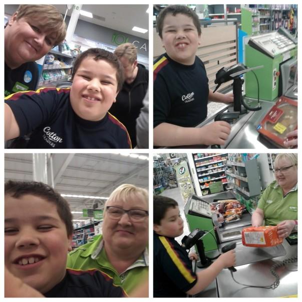 Joe Finn loves shopping at Asda Gosforth thanks to checkout colleague Joan Bailey