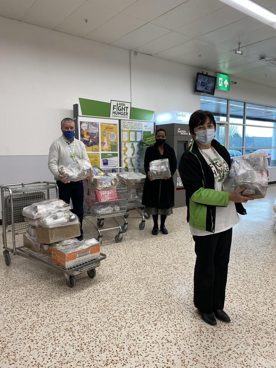 Emergency food packs | Asda Cookstown