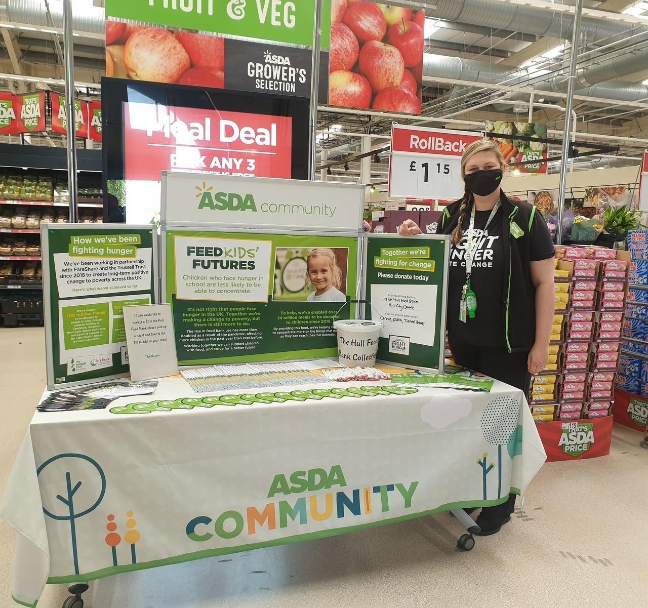 Food bank support | Asda Mount Pleasant