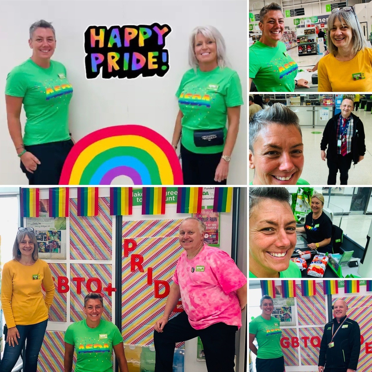 Celebrating Pride | Asda Halifax