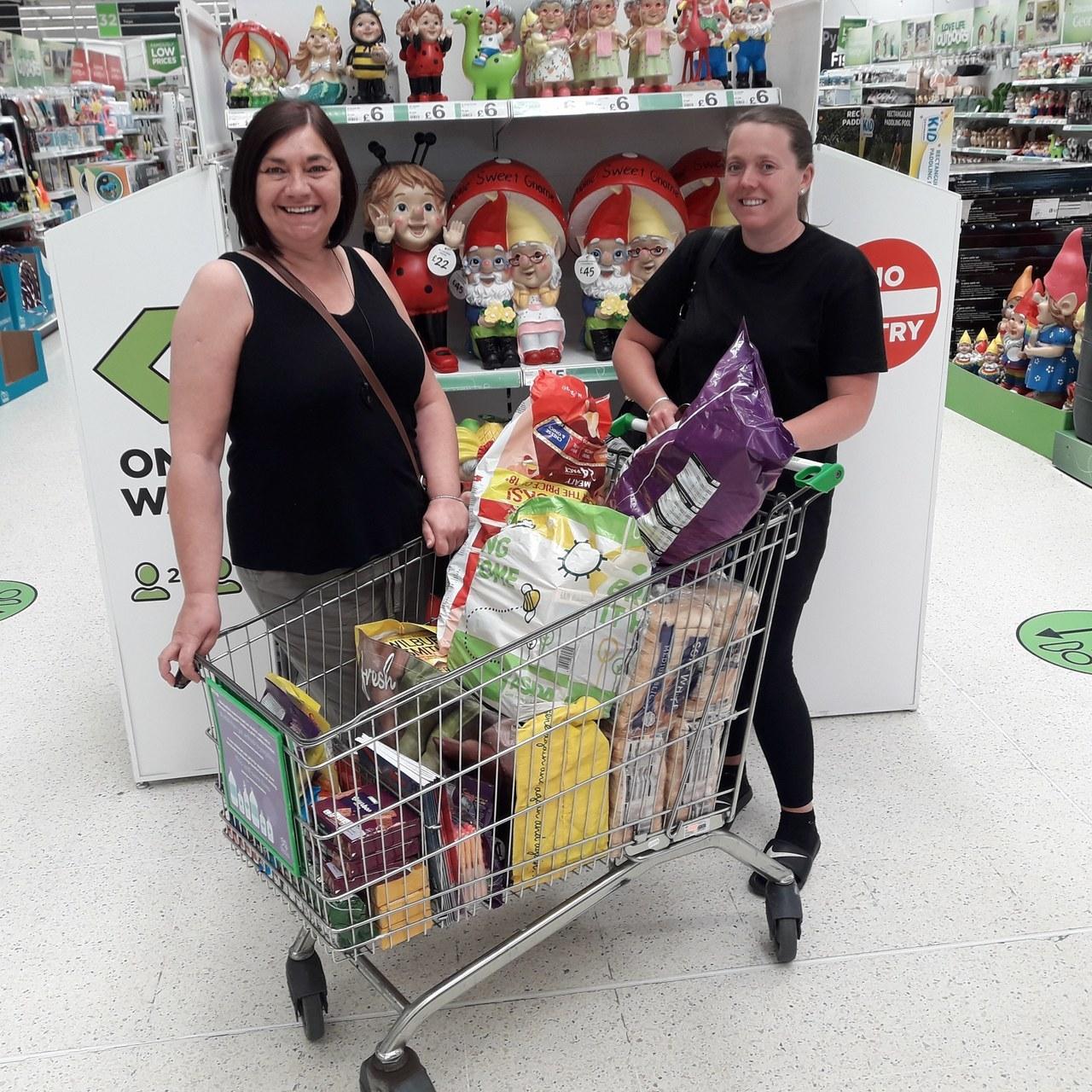 Donation thanks | Asda Queensferry