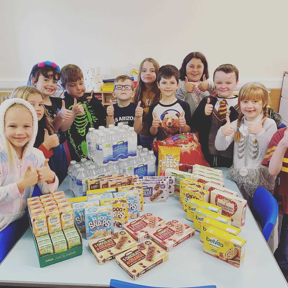 Schools say thanks | Asda Elgin
