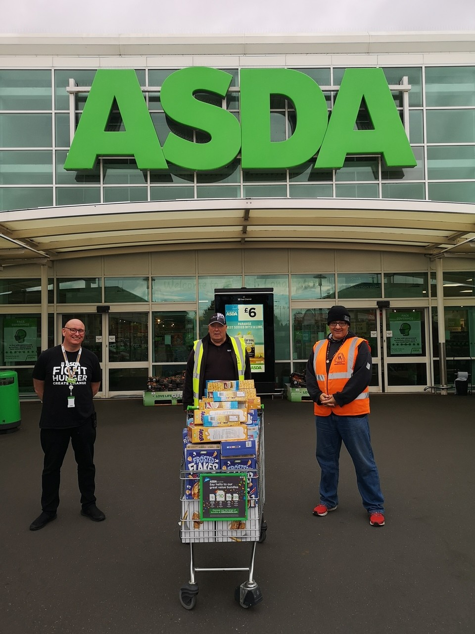 Supporting Stapleford Food Project | Asda Long Eaton
