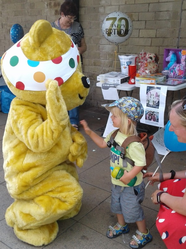 BBC Children in Need at Asda Shipley