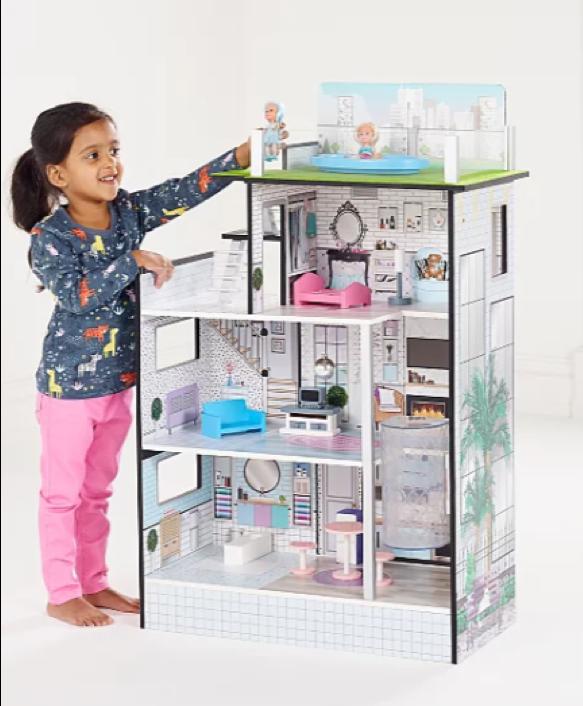 Wooden toys 2019 - Mini Fashion Dolls House