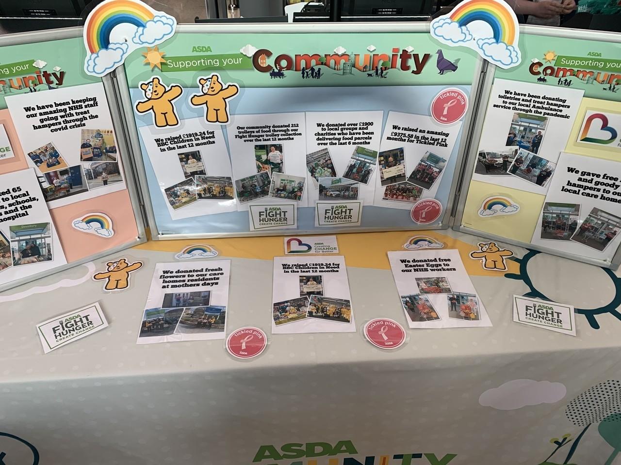 Supporting our community | Asda Dewsbury