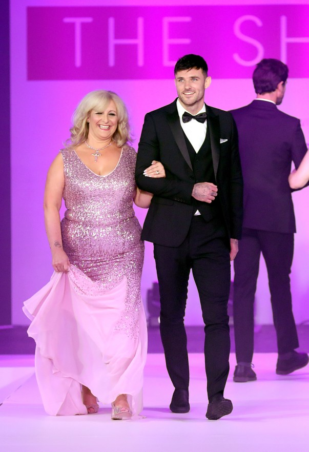 jacqui Johnson from Asda Hull Living took part in the Breast Cancer Care fashion show
