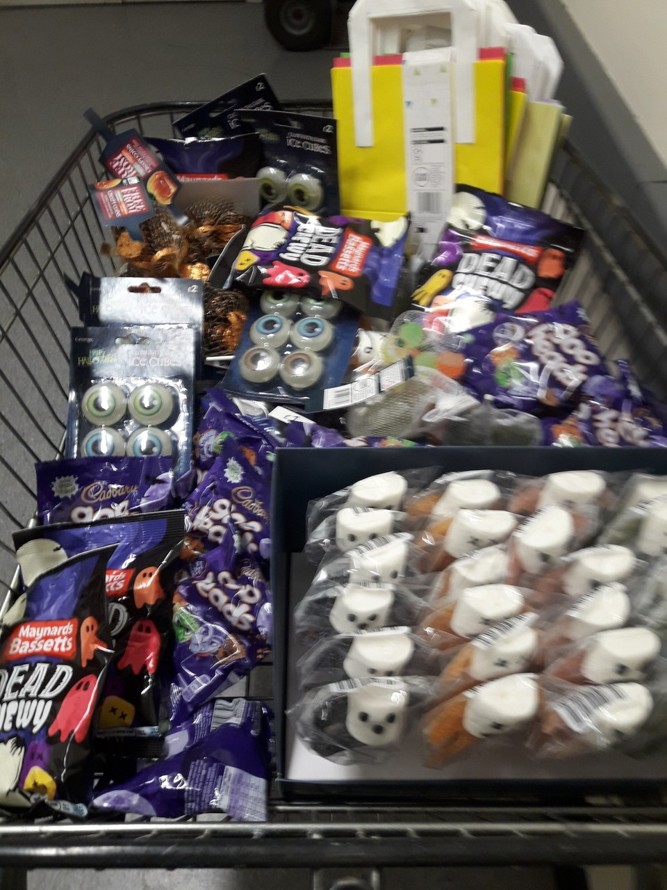 Halloween donation. | Asda Kingshill