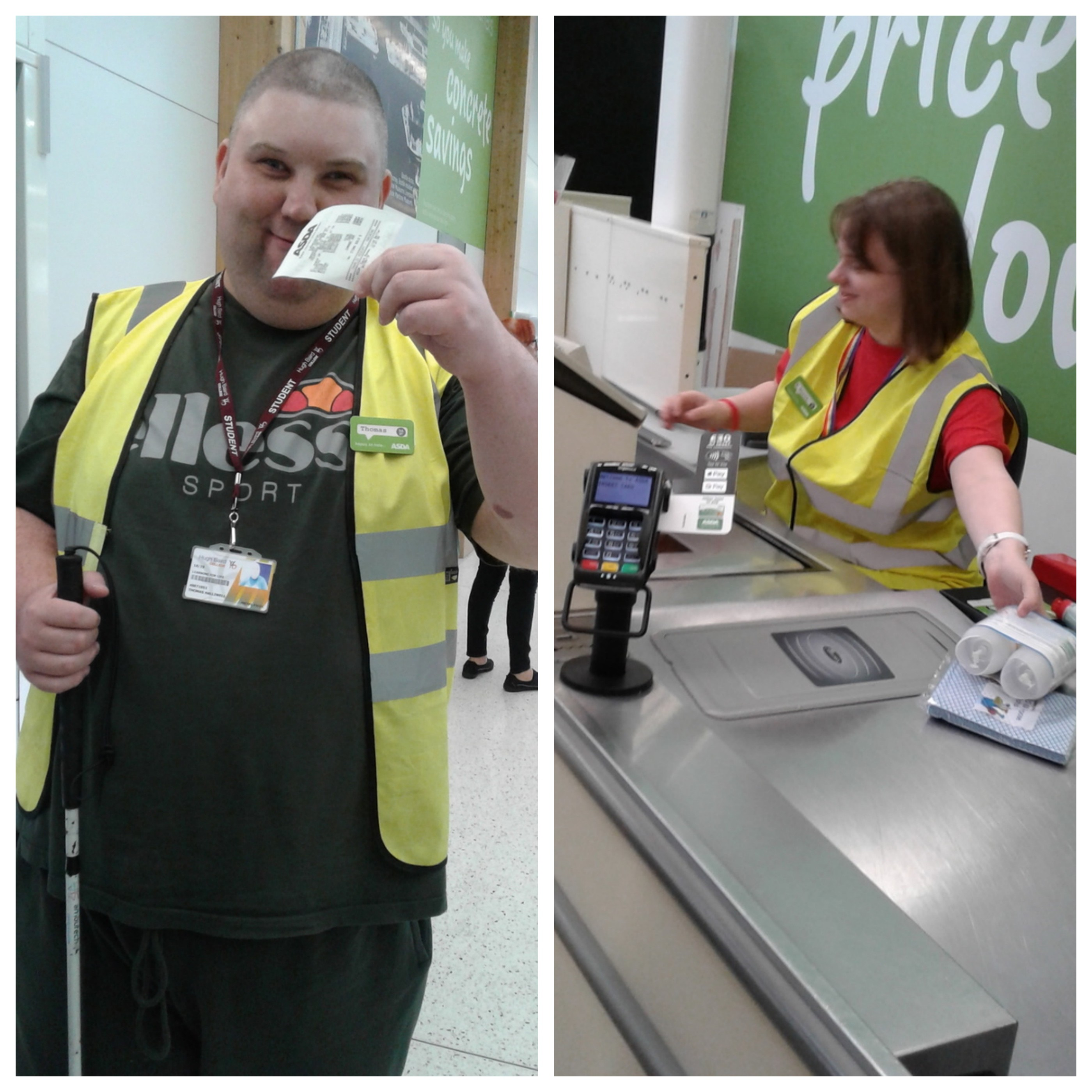 Students experience world of work at Asda Bootle