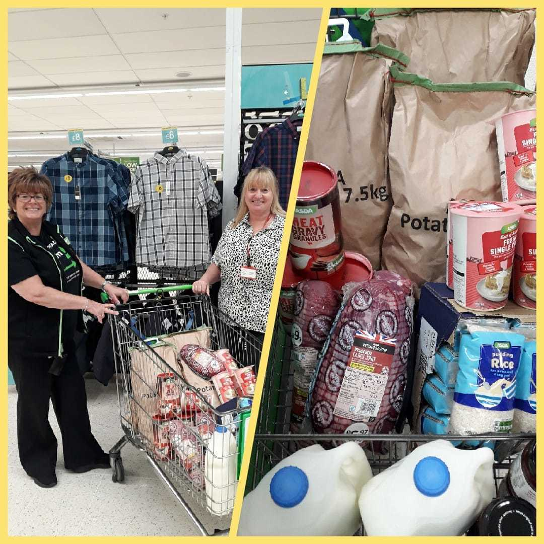 Helping the community with food donations | Asda Gateshead