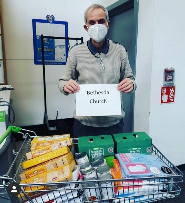 Bethesda Church donation | Asda Shaw