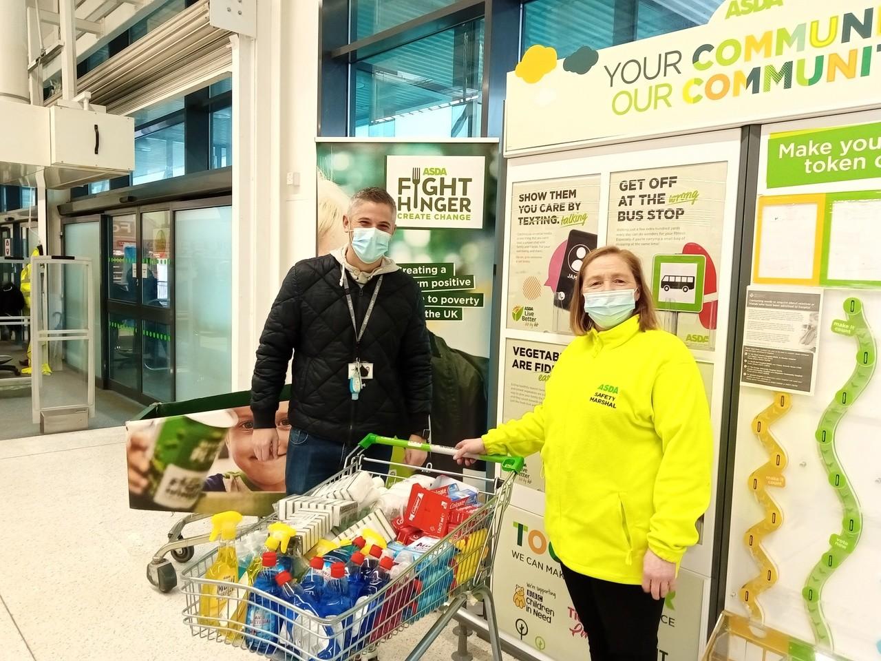 Monnow Primary donation | Asda Newport Pillgwenlly