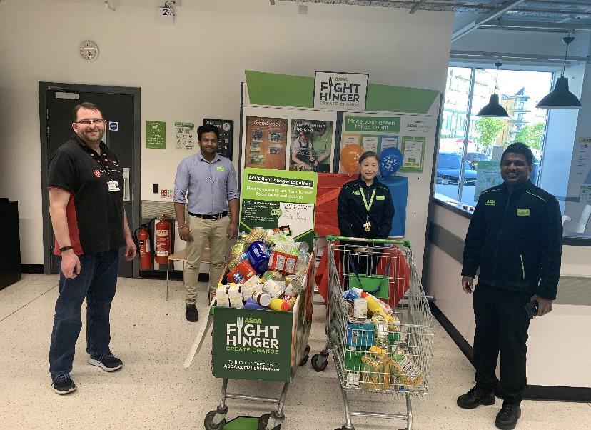 Food bank donation | Asda Feltham