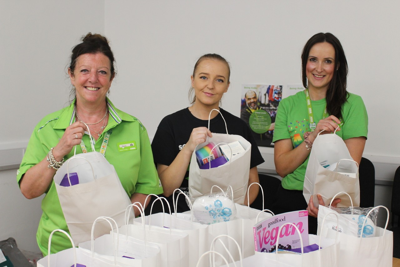 Future Females donation | Asda Bolton