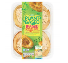 Allergen Alert: Undeclared Milk in Plant Based Loaded Potato Skins, 262g