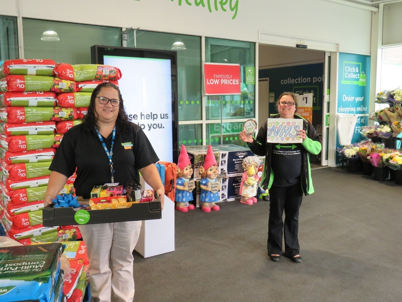 NHS celebrations thanks | Asda Wheatley