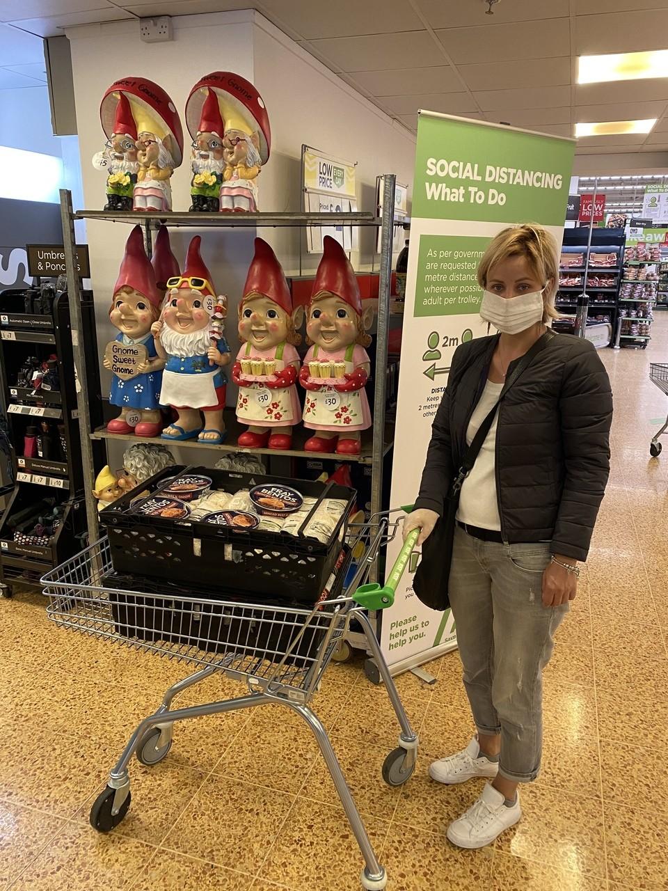 Food donation to Clockhouse Community Centre | Asda Charlton