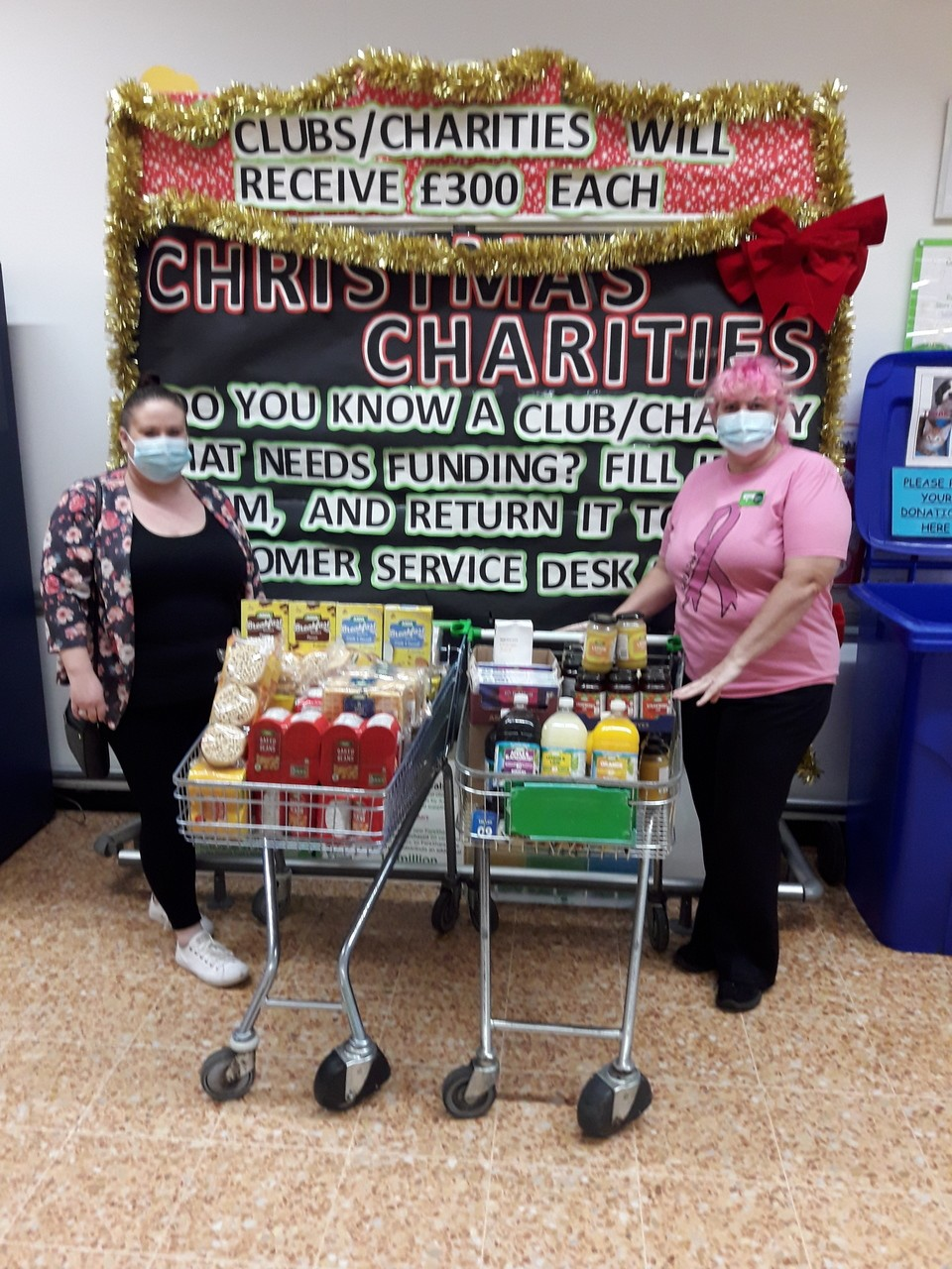 School breakfast club donations | Asda Leicester