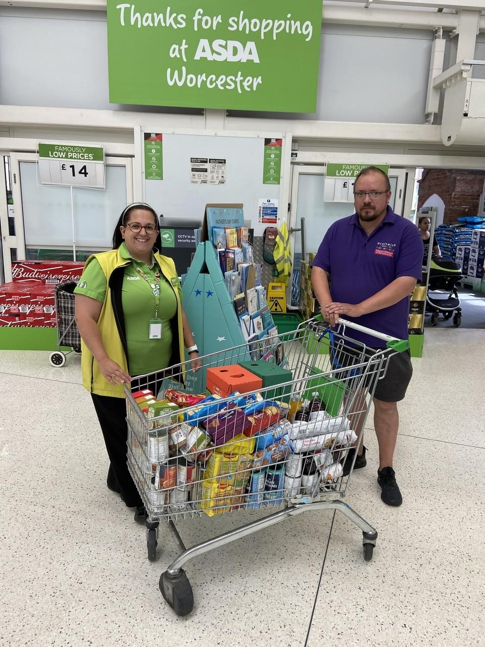Food donation | Asda Worcester