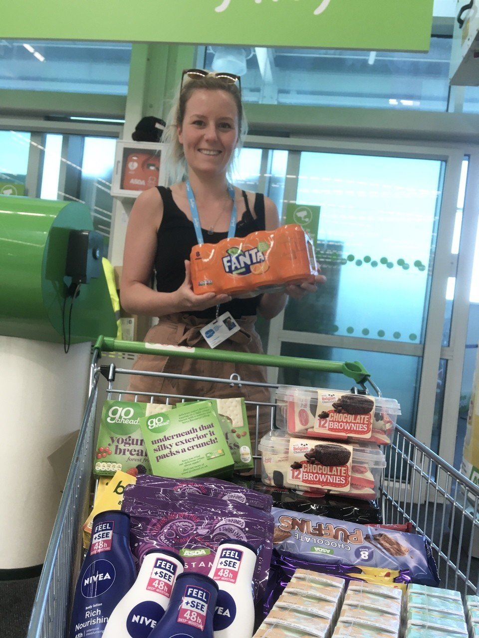 Donation to Manorlands Hospice | Asda Keighley