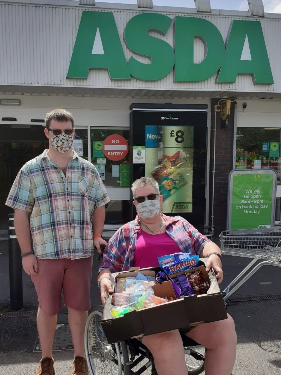 Donation to Focus | Asda Fareham