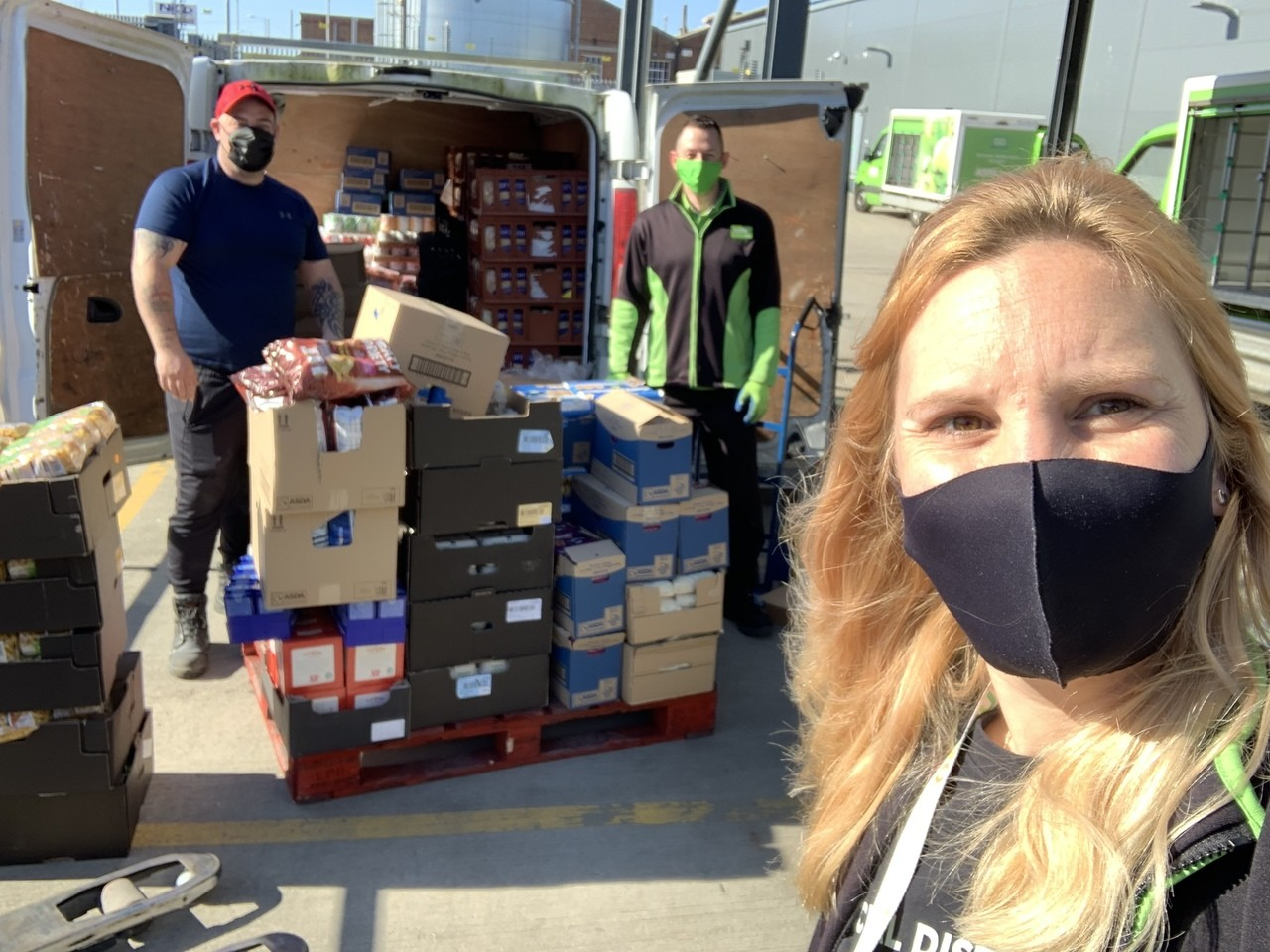 100 food parcels from Jaywick Sands Community Forum | Asda Clacton-on-Sea