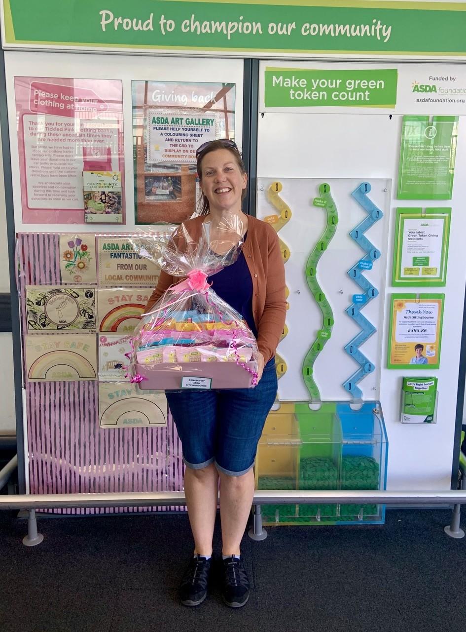 Tunstall Primary School virtual fete donation | Asda Sittingbourne