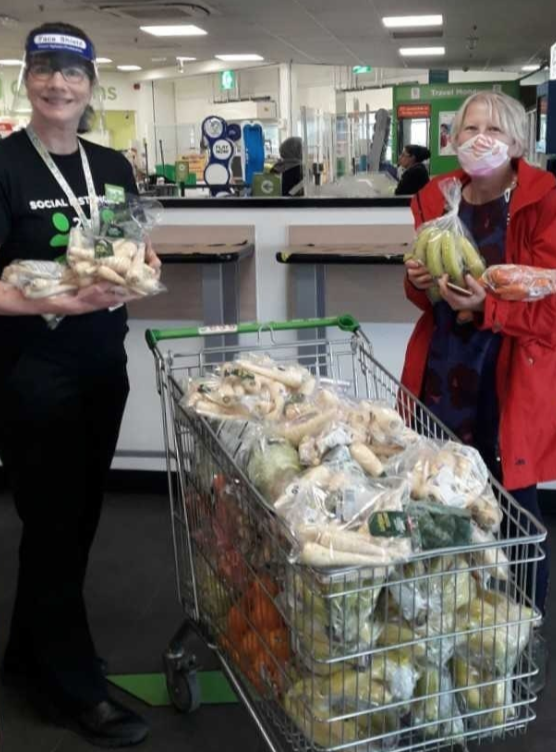 Healthy eating donation | Asda Colne
