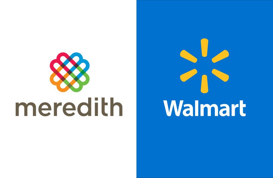 Meredith + Walmart Logos