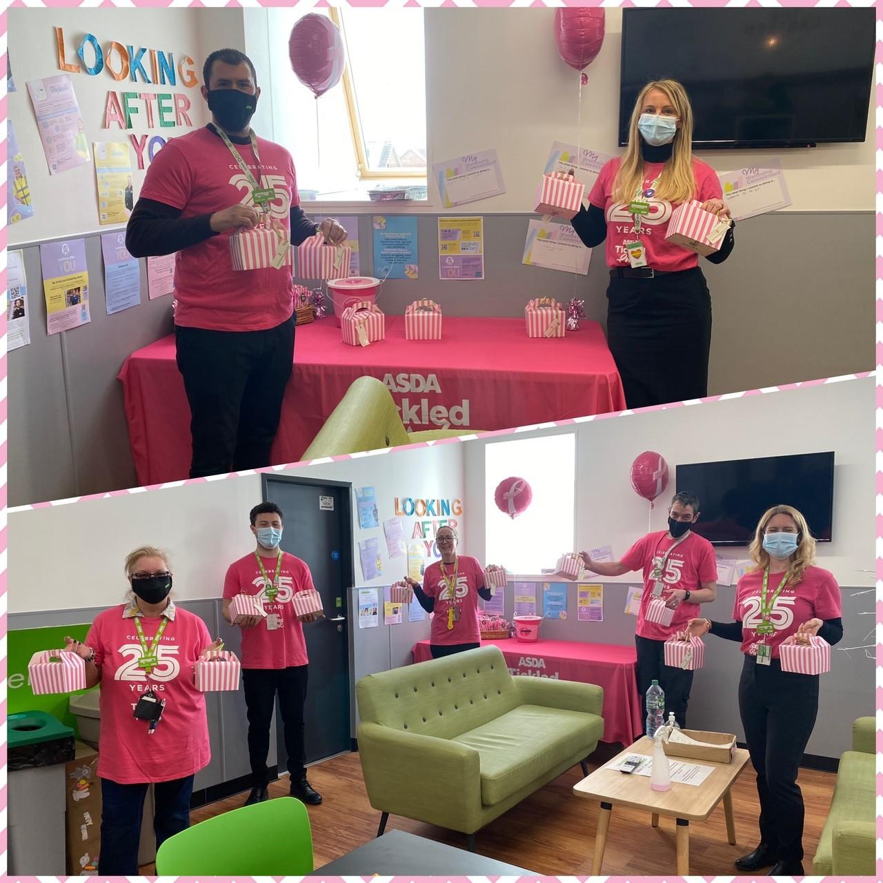 Tickled Pink weekend | Asda Chelmsford