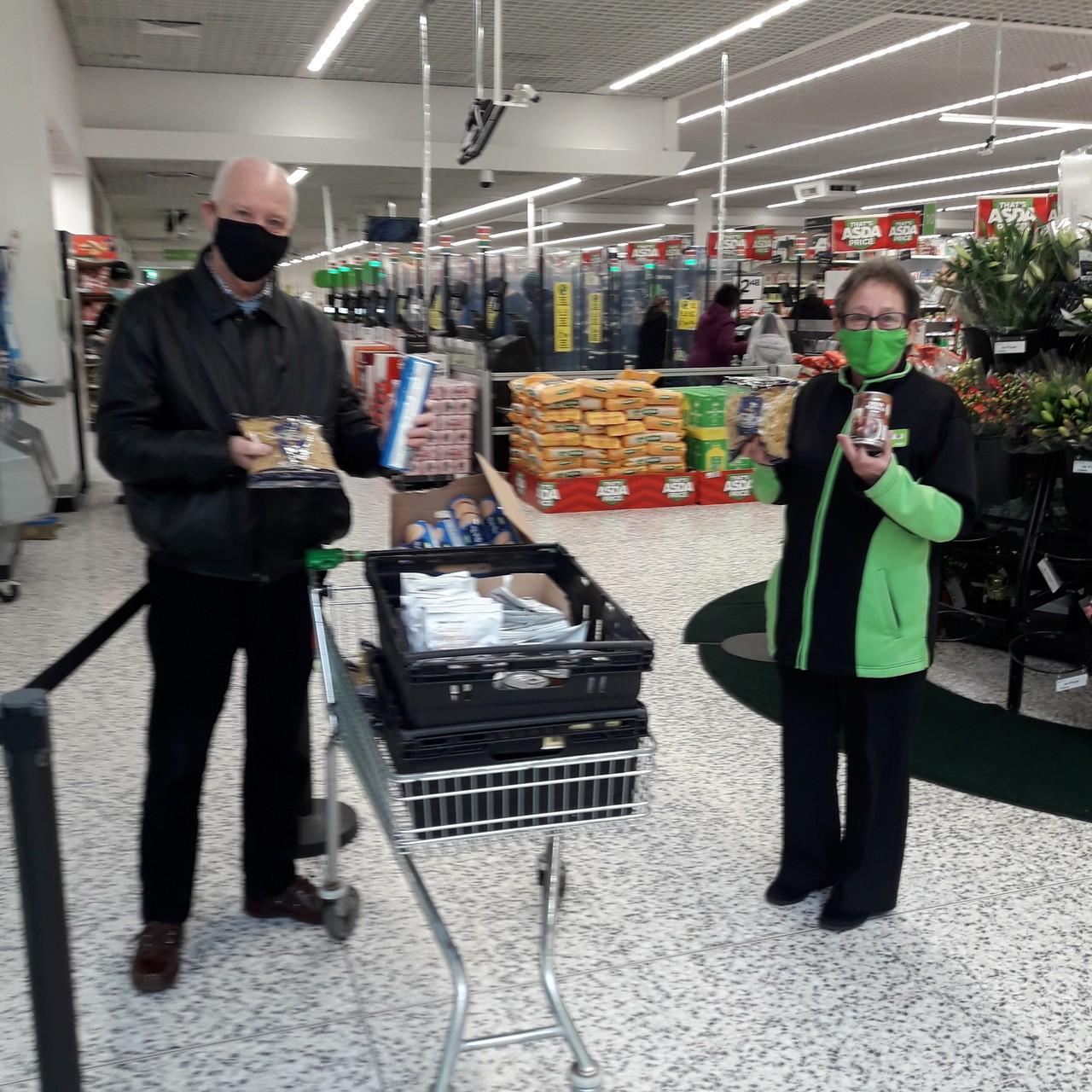 Food bank donation | Asda Wolverhampton