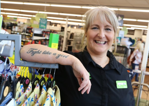 Jacqui Johnson from Asda Living Hull will model in the 2018 Breast Cancer Care fashion show