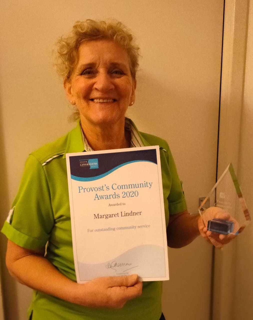 Blantyre colleague Margaret wins awards for tireless work in the community | Asda Blantyre