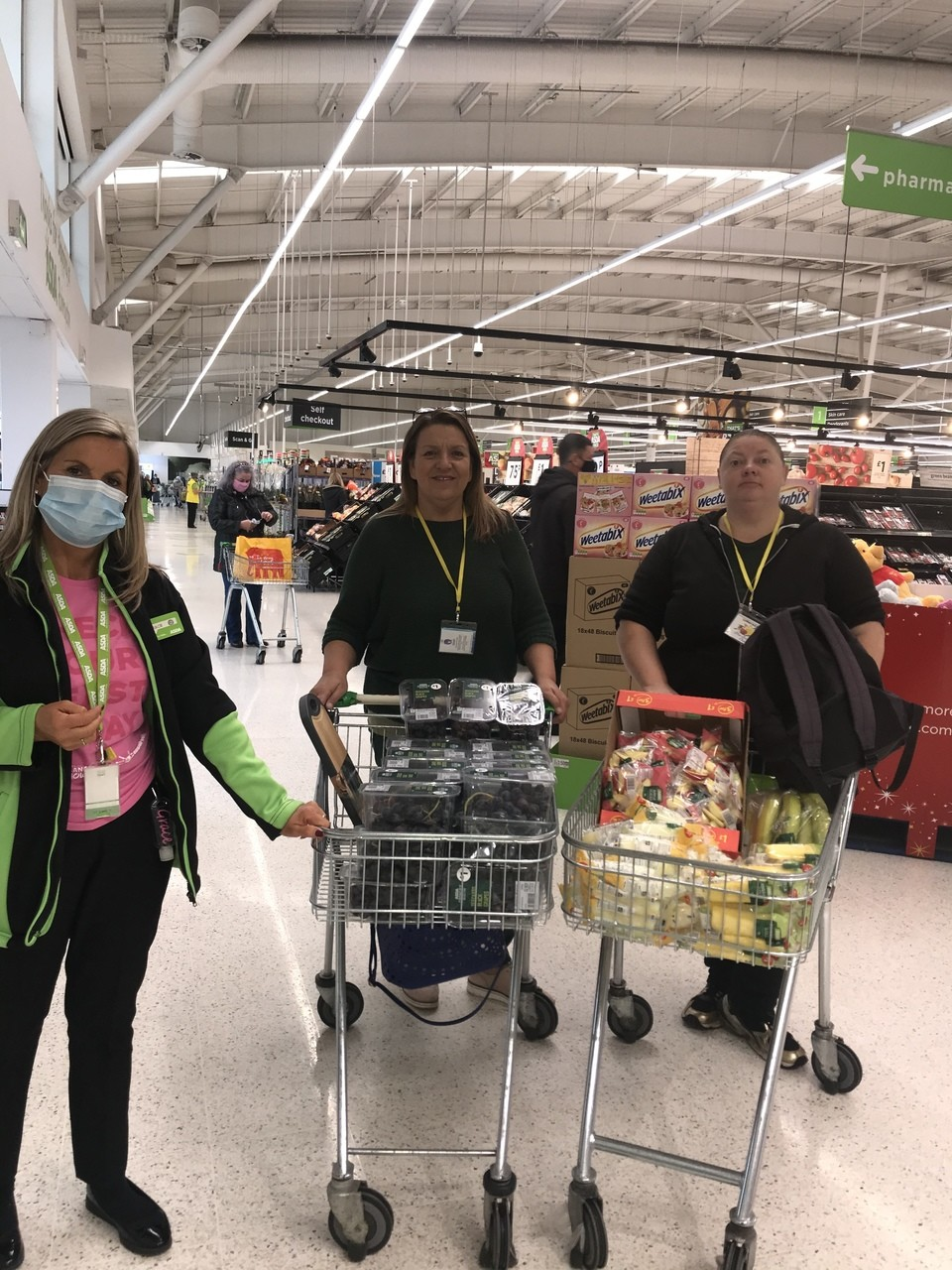 Fruit packs for the elderly and vulnerable | Asda Robroyston
