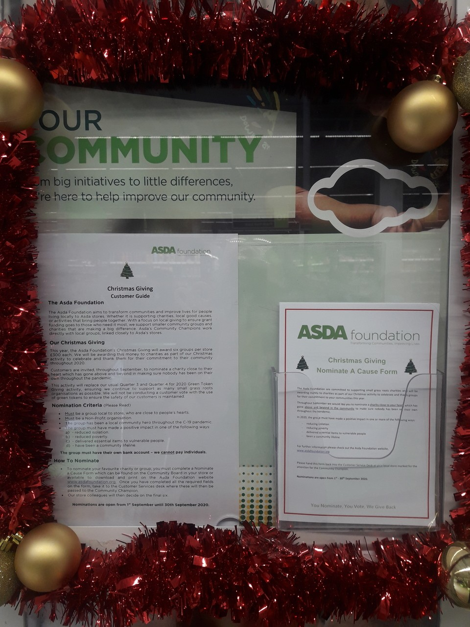 Christmas cheer! | Asda Barrow