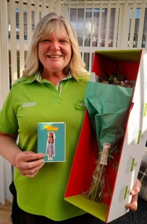 Audrey marks 25 years of service | Asda Cramlington