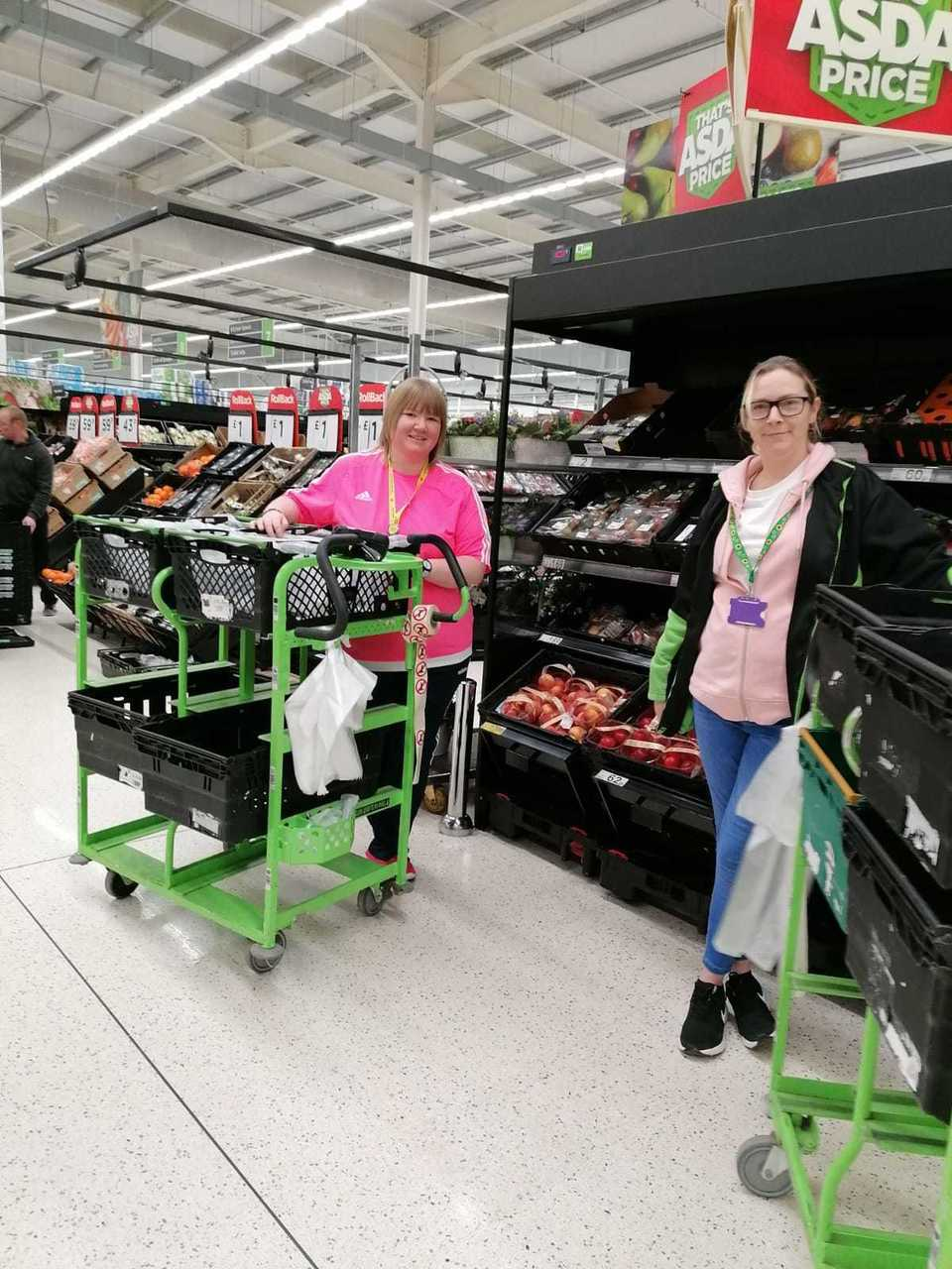 Amazing Pink support | Asda Portadown