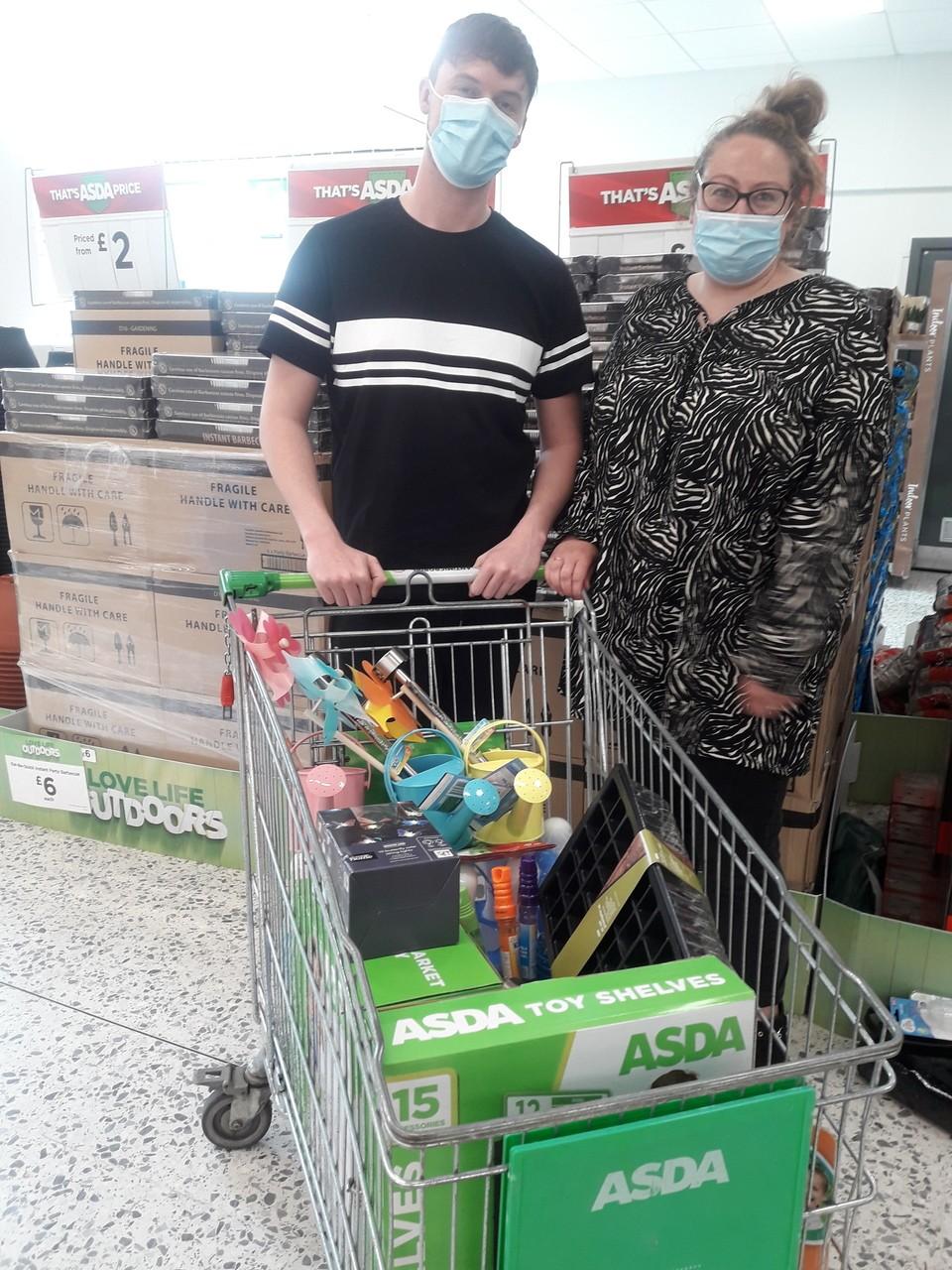 Donation | Asda Newport