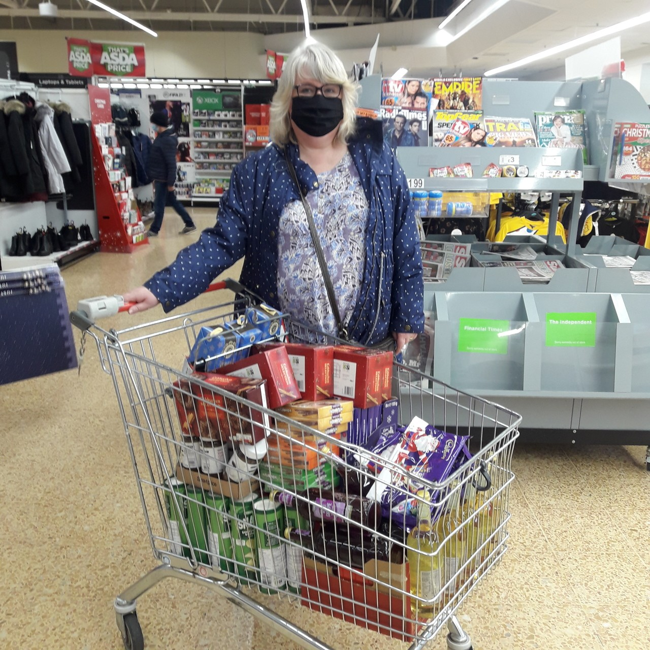 CAP (Christian's Against Poverty) donation | Asda Crewe