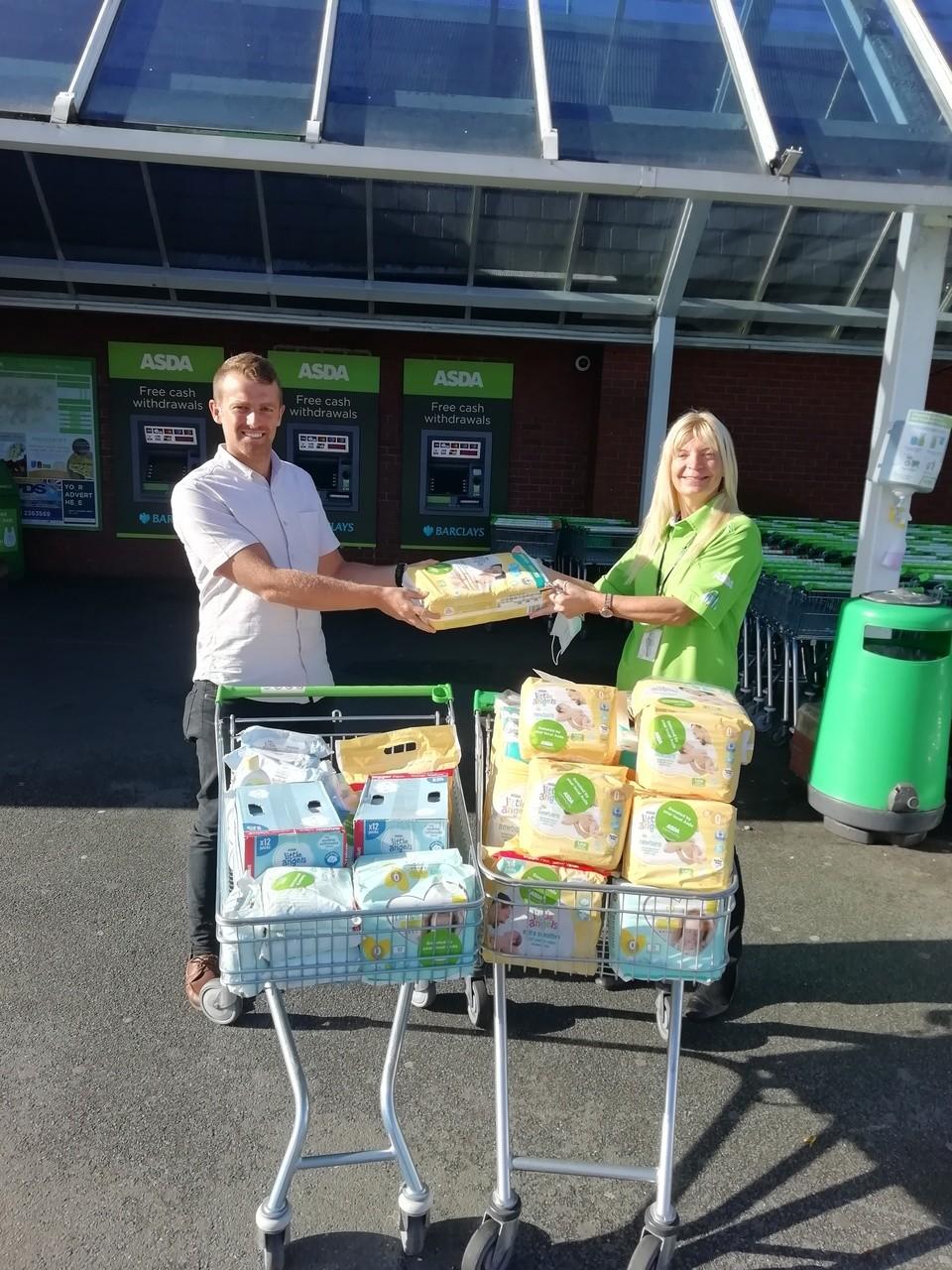 Leeds Baby Bank donation | Asda Morley