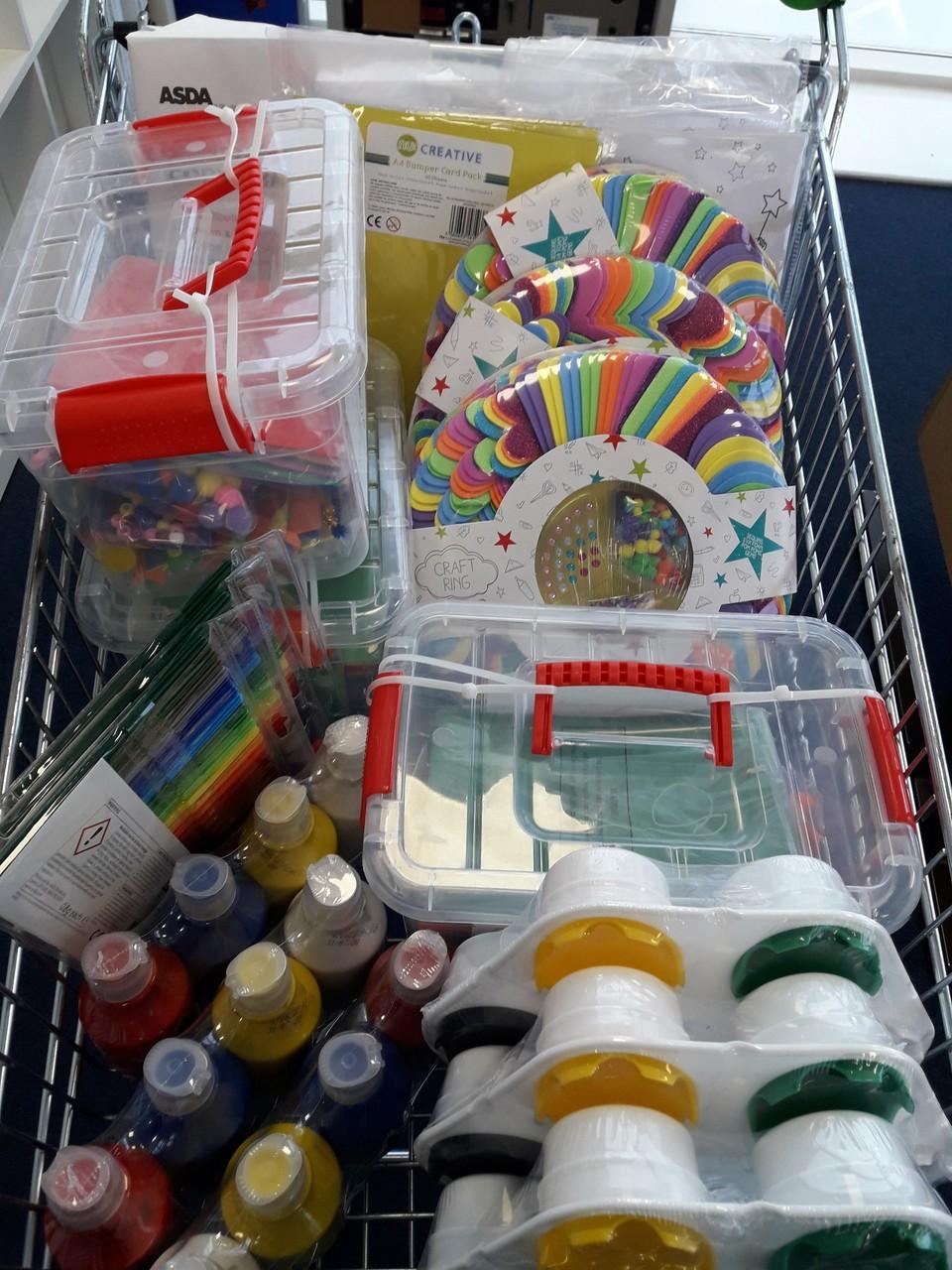 Donation forWinlaton Community Centre | Asda Gateshead