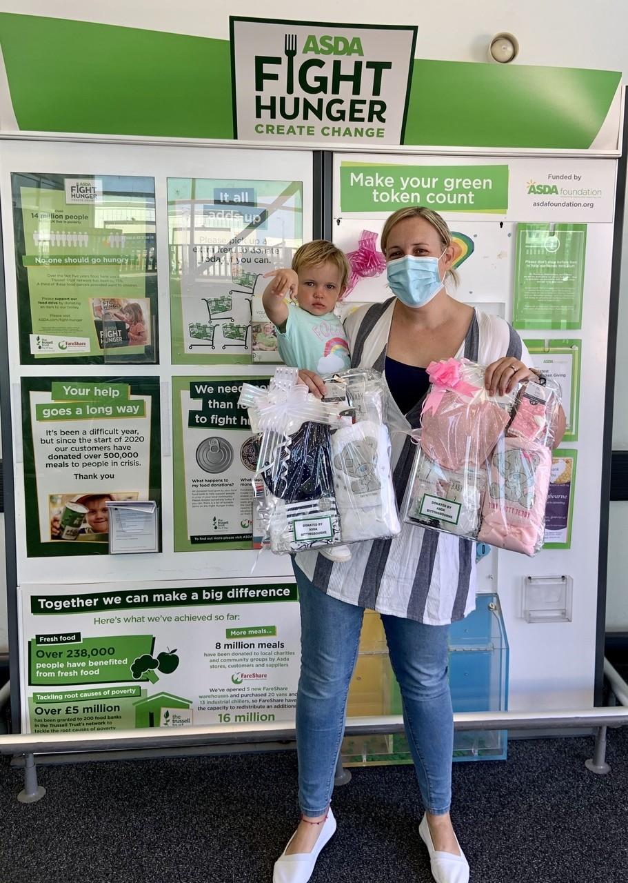 Oliver Fisher Special Care Baby Unit presentation | Asda Sittingbourne