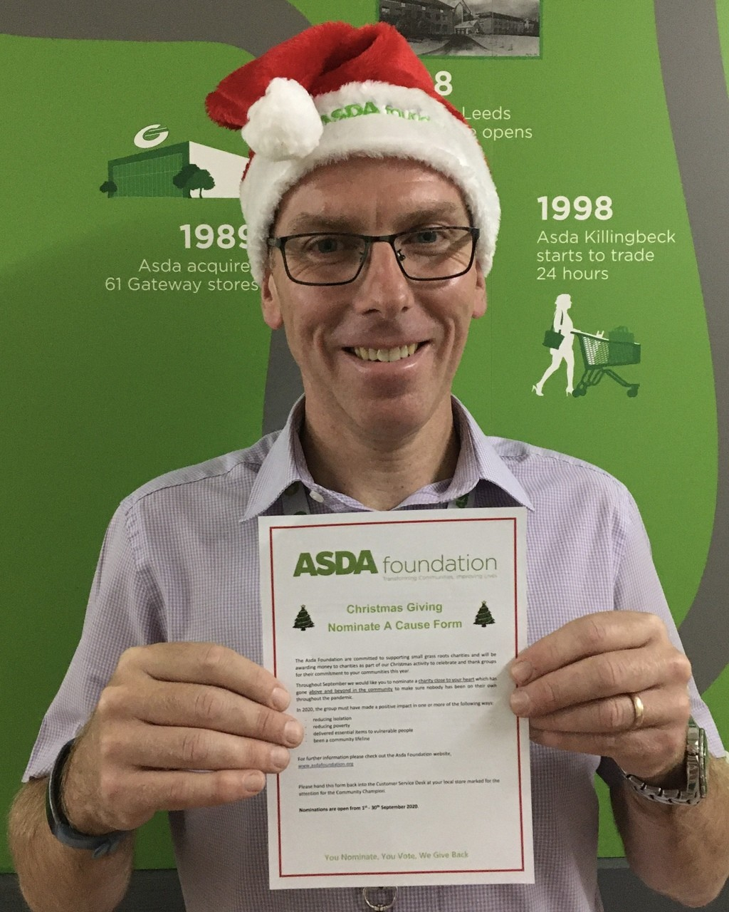 Asda Foundation Christmas grants  | Asda St Austell