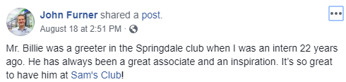 Living Springdale Facebook Post