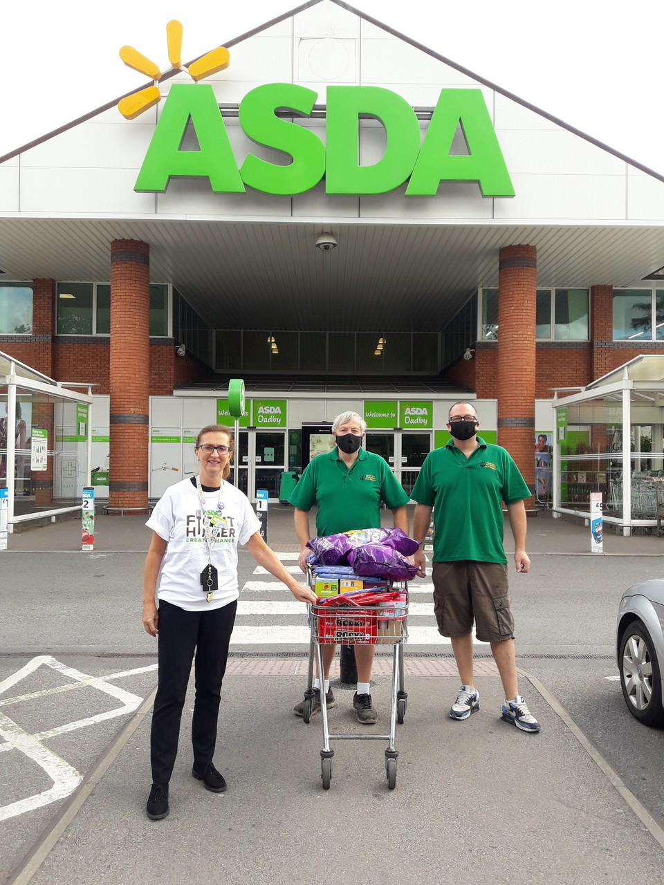 Donation to Goldhill Adventure Playground  | Asda Oadby