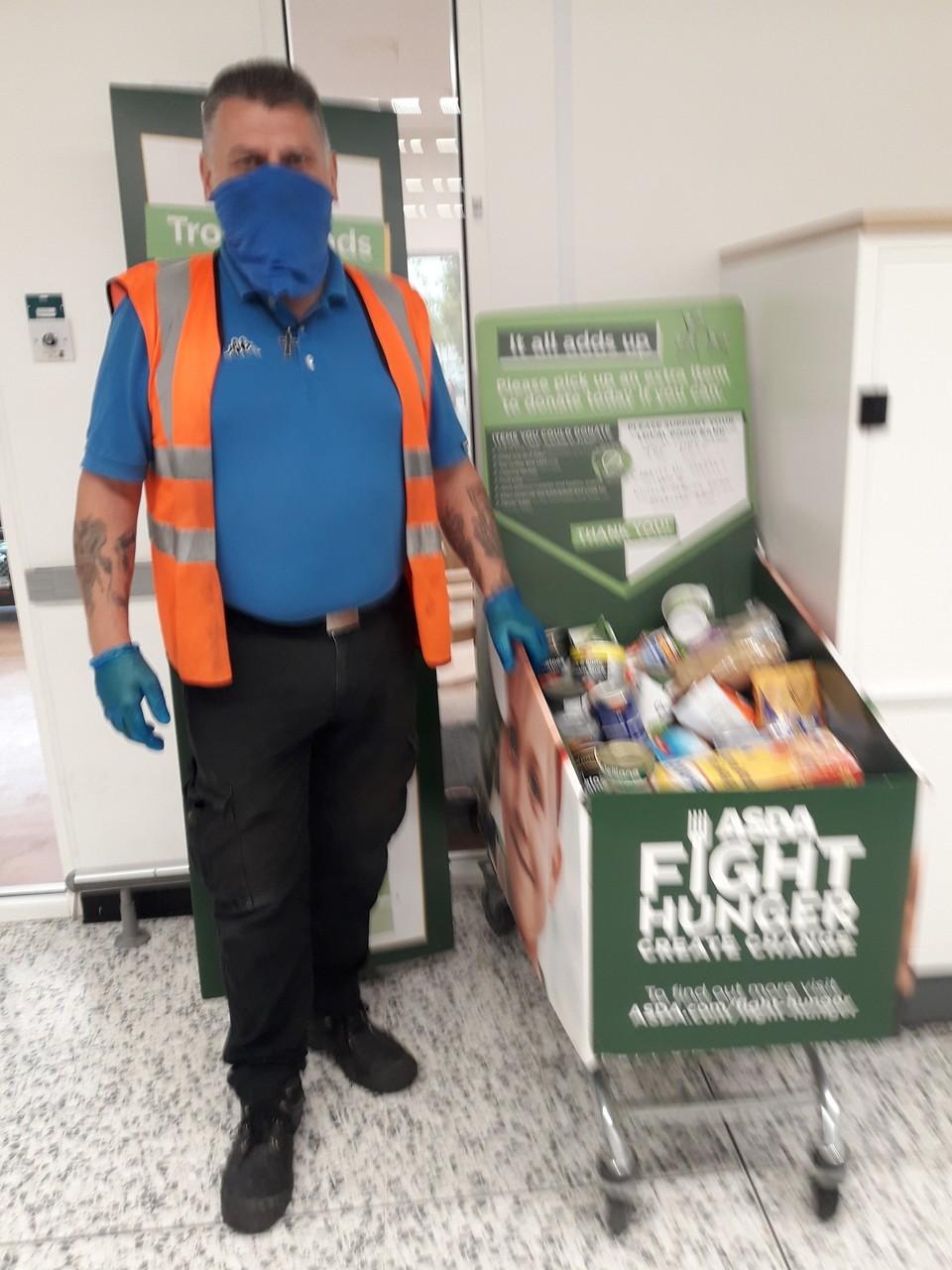 Foodbank collection | Asda Wolverhampton