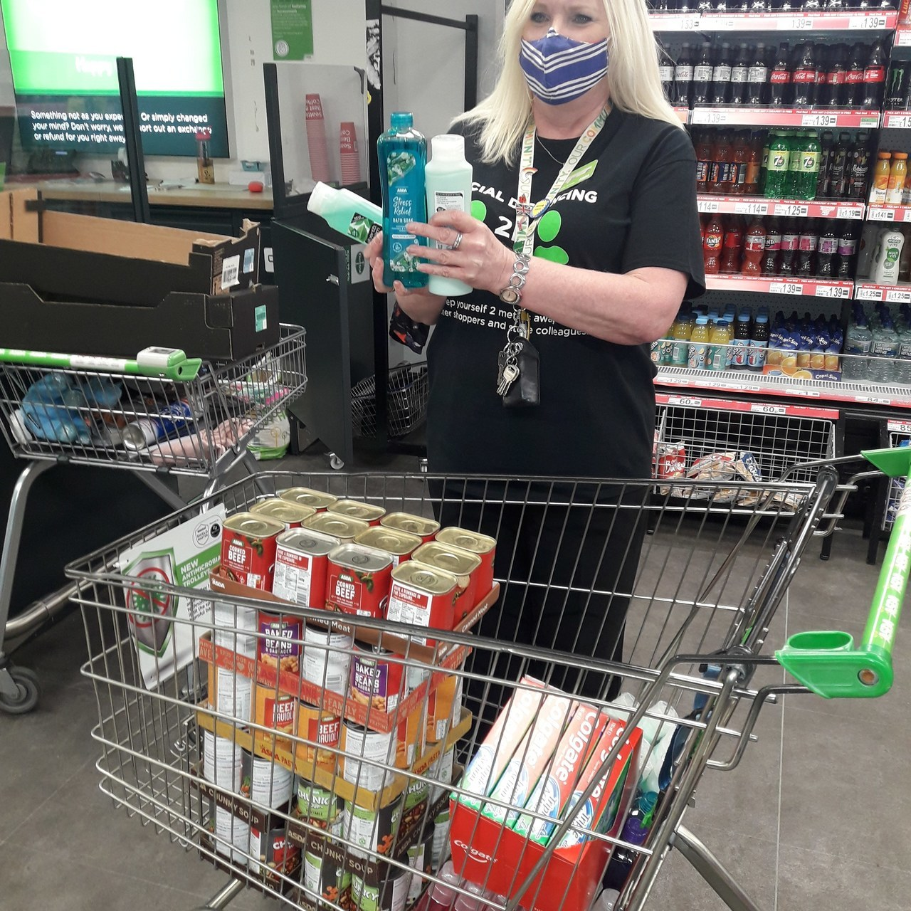 Store donation for local Age UK | Asda Barrow