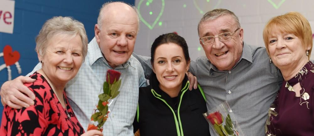 Asda Belfast Westwood community champion Noeleen McMahon Valentine's Day
