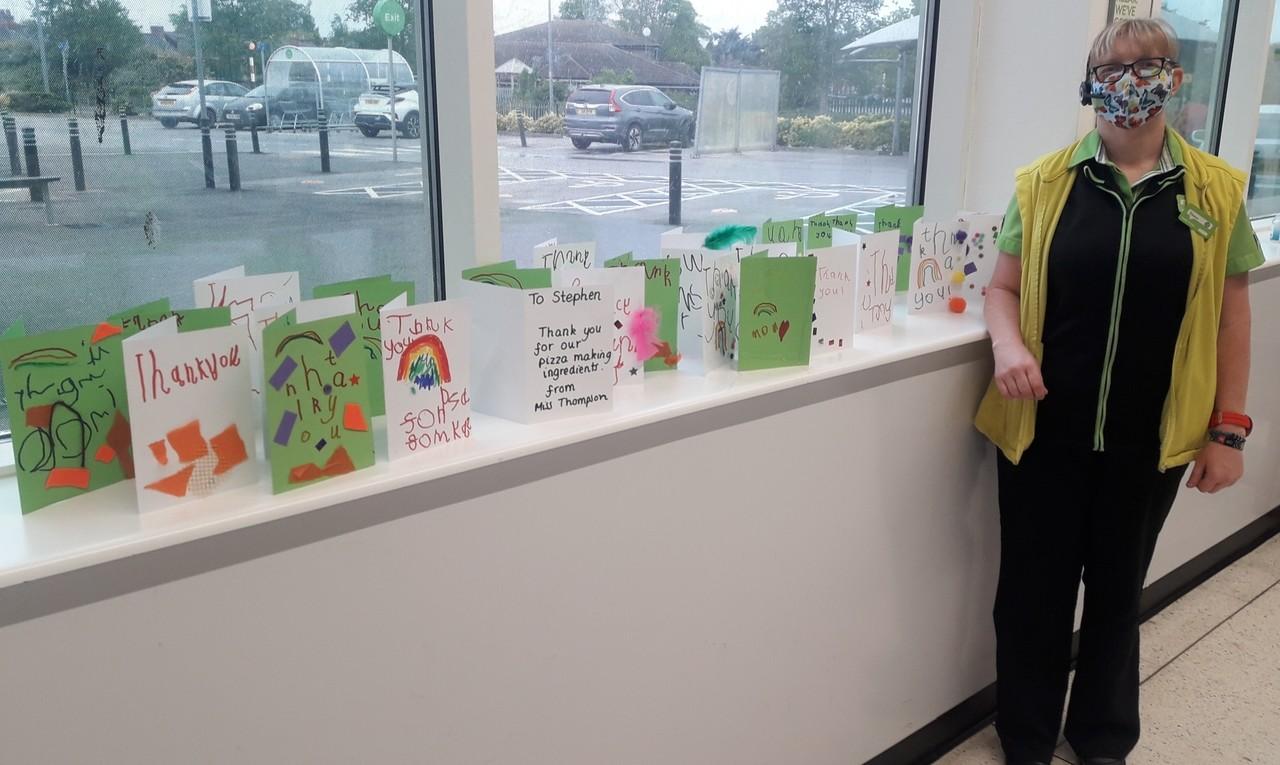 Thank you cards | Asda Boston