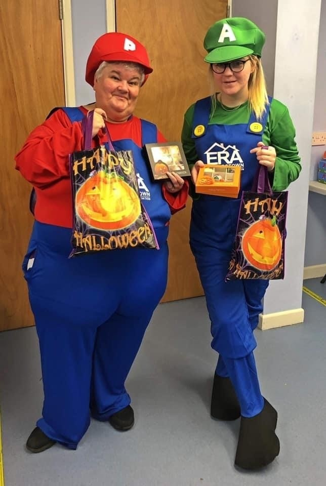 Out and about helping kids at Halloween | Asda Portadown